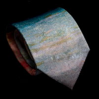 William Turner Silk Tie, Sunset