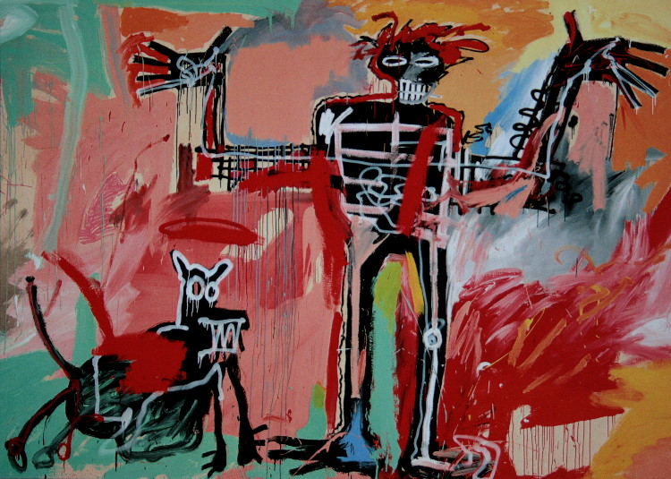 Image result for Basquiat reproduction