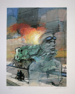 Enki Bilal signed and numbered : Le creusot