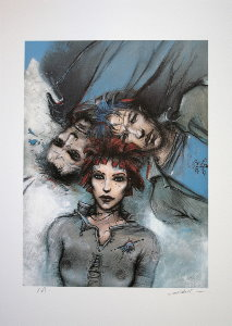 Enki Bilal signed and numbered : Le sommeil du monstre