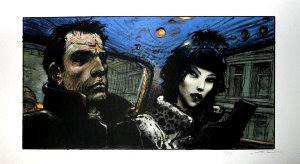 Enki Bilal signed and numbered : L'Interview