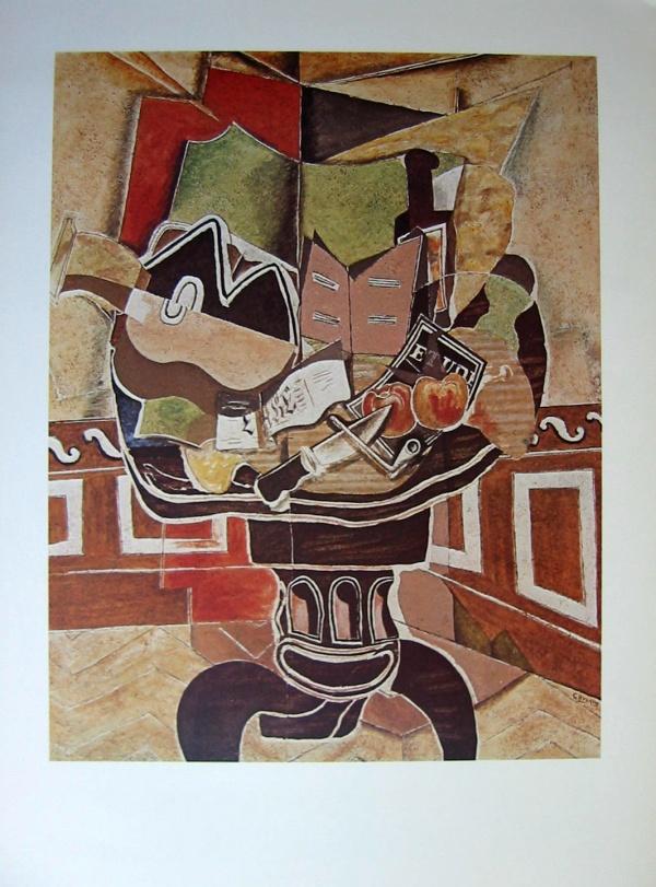 Georges Braque Le Gu 233 Ridon 1929 90 X 62 Cm