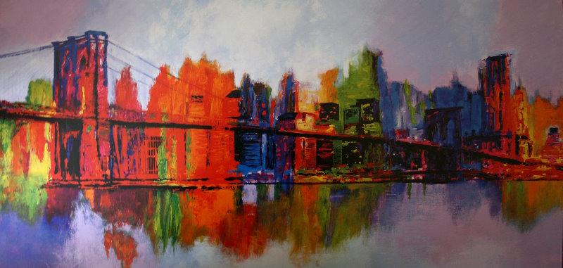Brian Carter : Abstract Manhattan : Reproduction, Fine Art ...