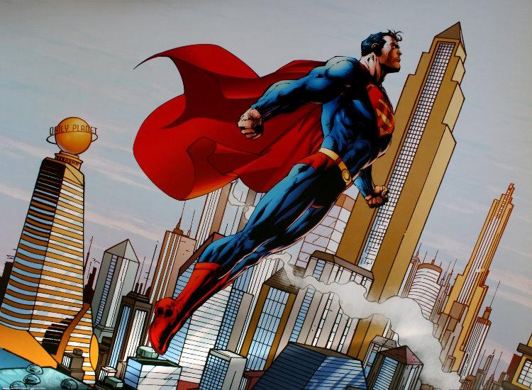 DC Comics : Metropolis Skyline, Superman