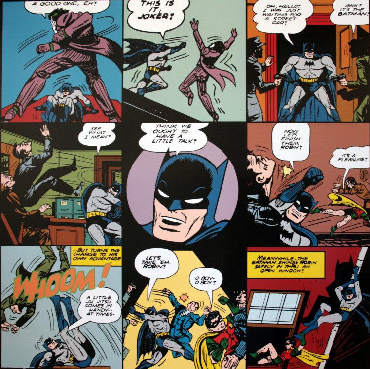 DC Comics : A Good One, Eh ? (Batman) : 70 X 70 Cm (27.6