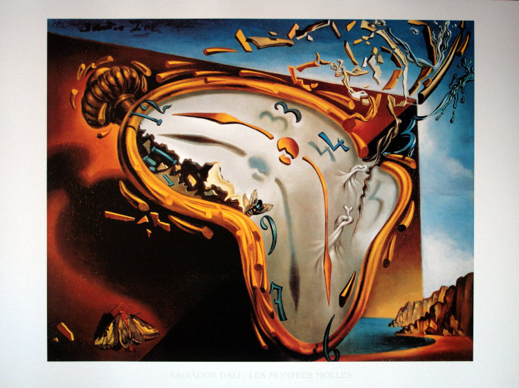 Salvador Dali Melting Clocks Salvador DALI -...