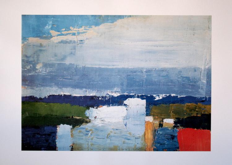 Nicolas de stael paysage du midi reproduction fine - Poster peinture ...