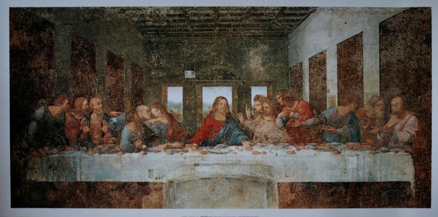 2 Les Apports De La Perspective A Point De Fuite Exemple De La Cene De Leonard De Vinci
