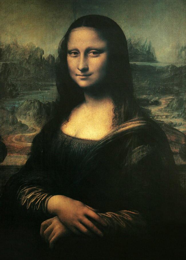 Leonardo da vinci la gioconda mona lisa 1503 1506 for La gioconda di leonardo da vinci