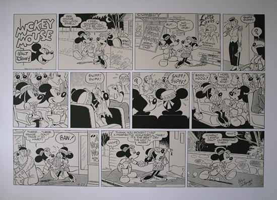 Walt DISNEY : Minnie's Best Cry in Ages : 91 x 66 cm (36