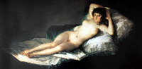 Affiches, Posters GOYA : Maja Nue