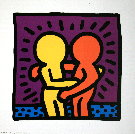 Keith Haring : sans titre 1987