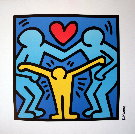 Keith Haring : famille unie, 1989