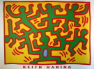 Keith Haring : sans titre 1988 (Growing)