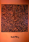 Keith Haring : sans titre 1982