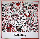 Keith Haring : Sans titre 1983