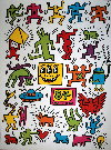 Keith Haring : Sans titre 1984
