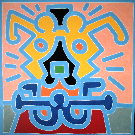 Keith Haring : Sans titre 1988