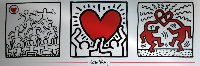 Keith Haring : Triptyque II, 1989