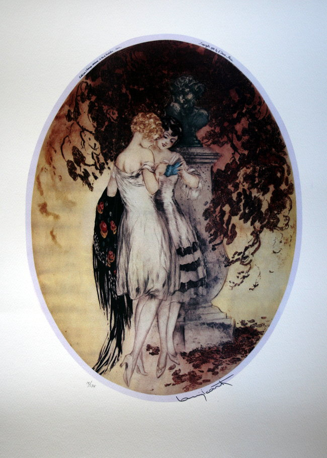 Louis ICART : Confidences, 1928