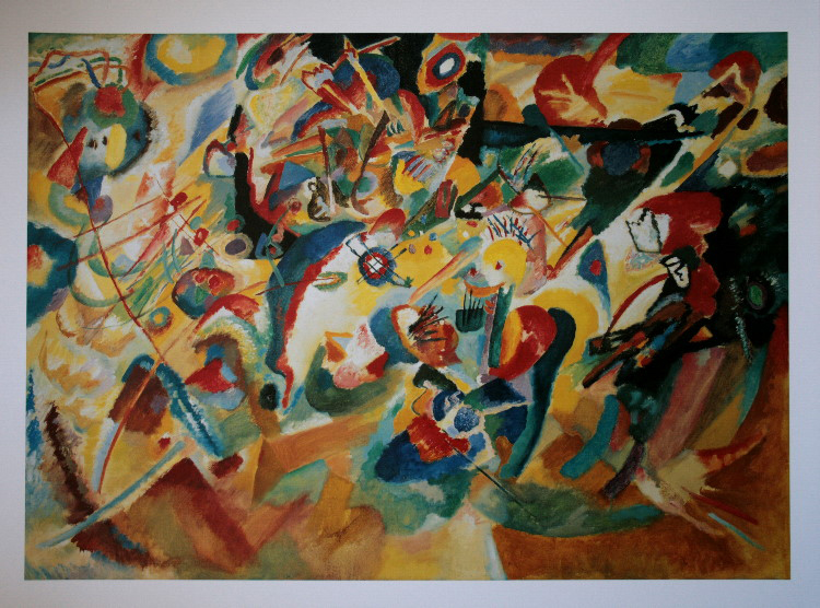 Wassily KANDINSKY : Composition VII, 1913 : Reproduction, Fine Art ...