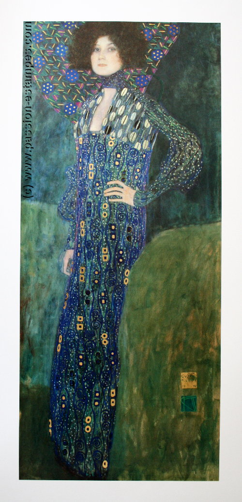 Gustav Klimt Portrait Of Emilie Fl 246 Ge 1902
