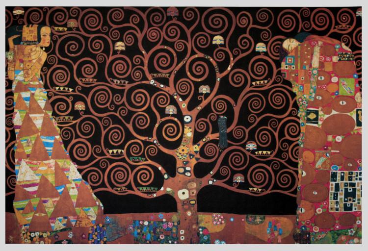 Gustav KLIMT : The tree of life (Black), 1909 : Giclee, Fine Art ...
