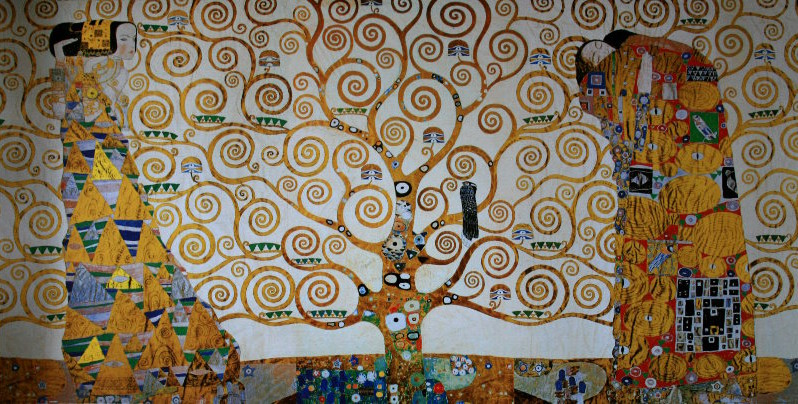Gustav Klimt Poster The Tree Of Life 1909 Original