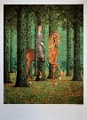 Ren� MAGRITTE : Le blanc-seing, 1965