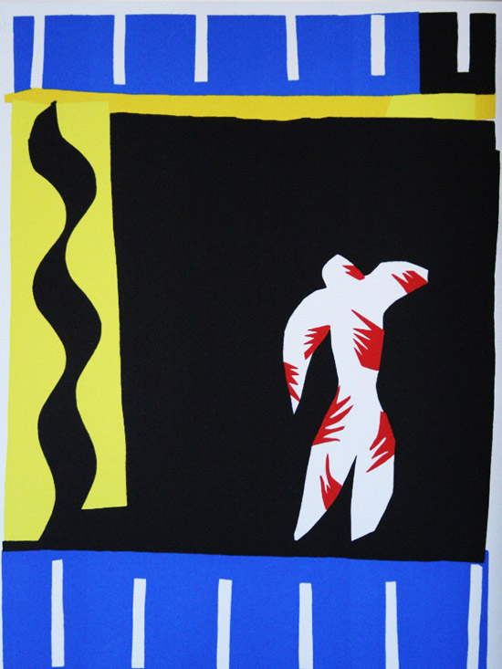 Lithographie Henri Matisse : JAZZ : Le Clown