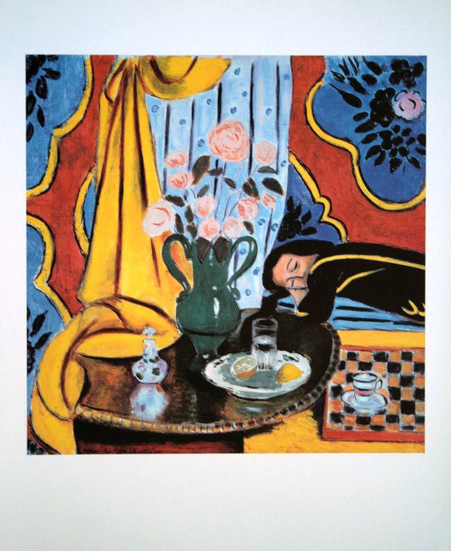 Henri MATISSE : Armonía en amarillo, 1928 : Reproducción, lámina ...