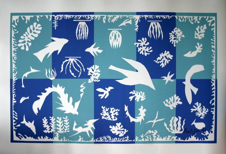 Henri matisse polyn sie la mer 1946 s rigraphie d for Il giardino di matisse