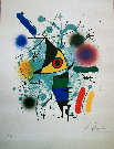 Joan Miro : The singing fish, 1972
