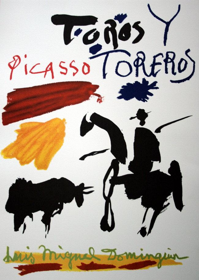 Pablo PICASSO : Toros y Toreros (1961)
