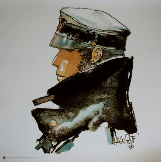 Stampa Hugo Pratt, Corto Maltese : Dedicated to Corto