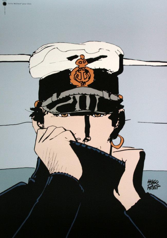 Corto Maltese Poster Corto Pour Dior 50 X 70 Cm
