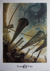 Affiche d'Art Schuiten, Sounds of Fury