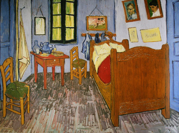vincent van gogh la chambre. Black Bedroom Furniture Sets. Home Design Ideas