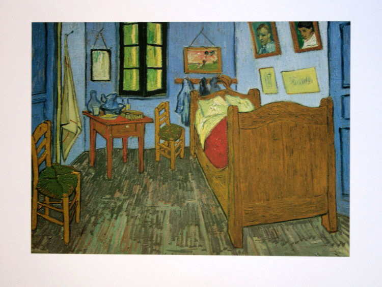 Vincent VAN GOGH : Vincent van Gogh\'s Bedroom at Arles, 1889 ...