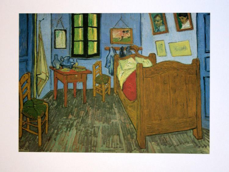 Vincent VAN GOGH : El cuarto de Vincent Van Gogh en Arles, 1889 ...