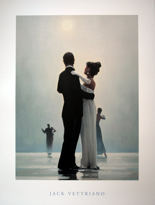 jack vettriano   dance me to the end of love   reproduction  fine art print  poster