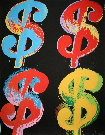 Andy Warhol : 4 dollars, 1982