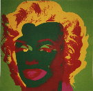 Andy Warhol : Marilyn Monroe (On Green), 1967