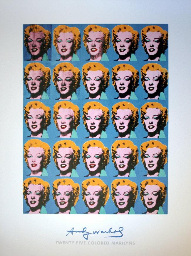 Marilyn Monroe 1962 Andy Warhol Andy Warhol 25 Marilyns