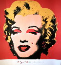 Andy Warhol : Marilyn Monroe - Marilyn, (on red ground) 1967