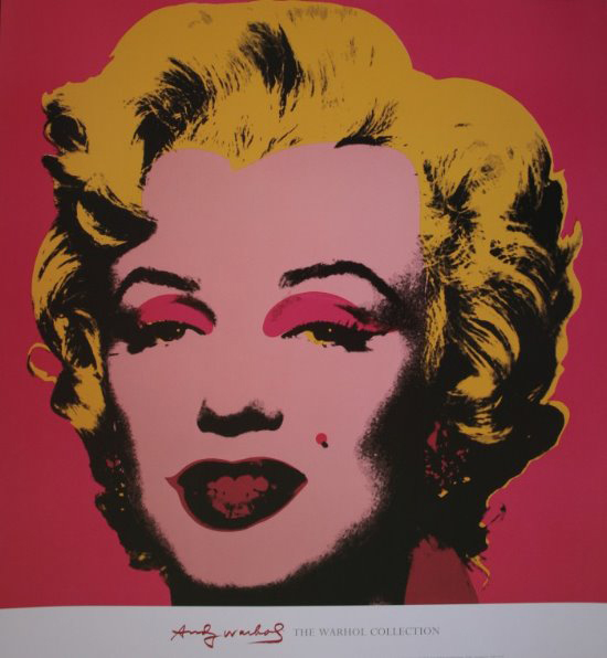 Stampa Andy Warhol, Marilyn Monroe - Hot pink, 1967