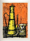 Bernard BUFFET : Nature morte � la cafeti�re