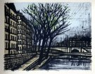 Bernard BUFFET : Paris L'�le Saint-Louis
