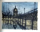 Bernard BUFFET : Paris Le Pont des Arts