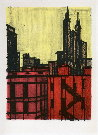 Bernard BUFFET : New York VII